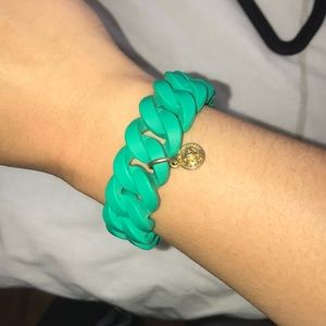 Marc By Marc Jacobs Jewelry - Green elastic Marc Jacobs bracelet